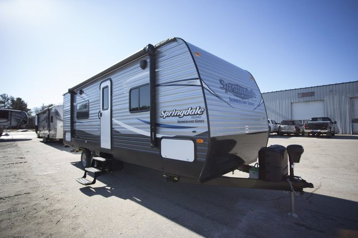 "ESCAPE THE HUSTLE AND BUSTLE!!!   2017 Keystone Summerland 2450RB  Traveling the countryside has never been easier. With out no money down financing and the ability to apply right from the comfort of your own home, this 27' 11"", 5,065 lb RV could be yours in moments. It's big enough to be comfortable and sleeps 4, but not so huge that it's unmanageable to tow.  Give our Summerland expert Jay Grace a call 231-903-6220 for pricing and more information."