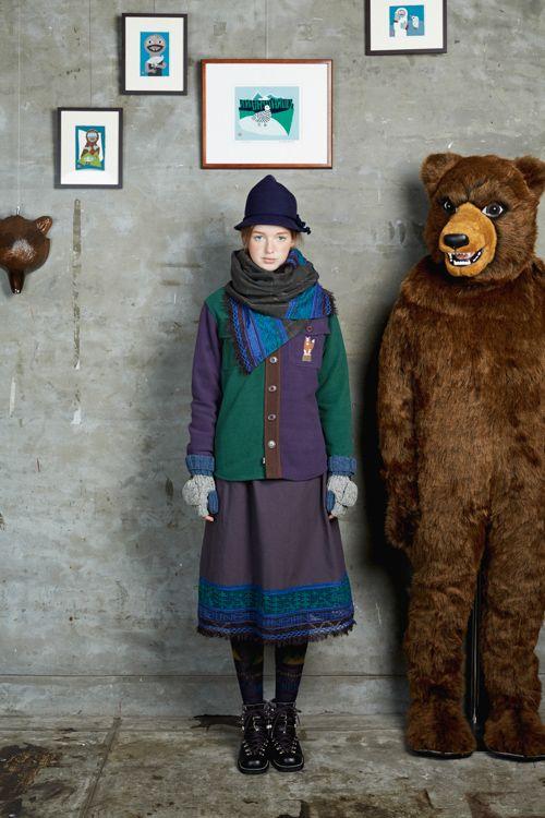 ネ・ネット(Né-net) 2015-16年秋冬コレクション Gallery33