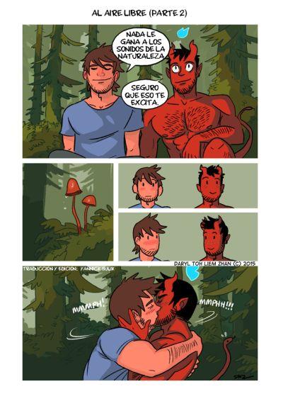 cfnm gay al aire libre