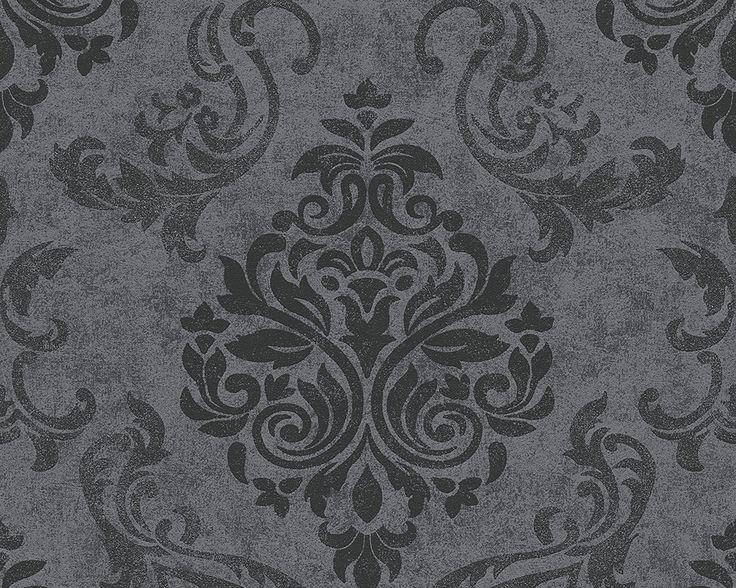 Vliestapete schlafzimmer grau  Die besten 25+ Barock tapete Ideen auf Pinterest