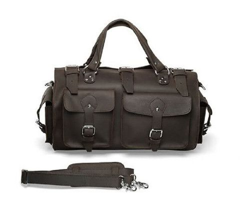 'The Woodsman' Large Leather Travel Bag http://www.rodenjamesleatherbags.com/collections/leather-overnight-bags