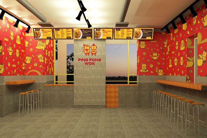 Вок-кафе, стрит-фуд, брендинг, дизайн, создание бренда с нуля, дизайн логотипа и фирменного стиля