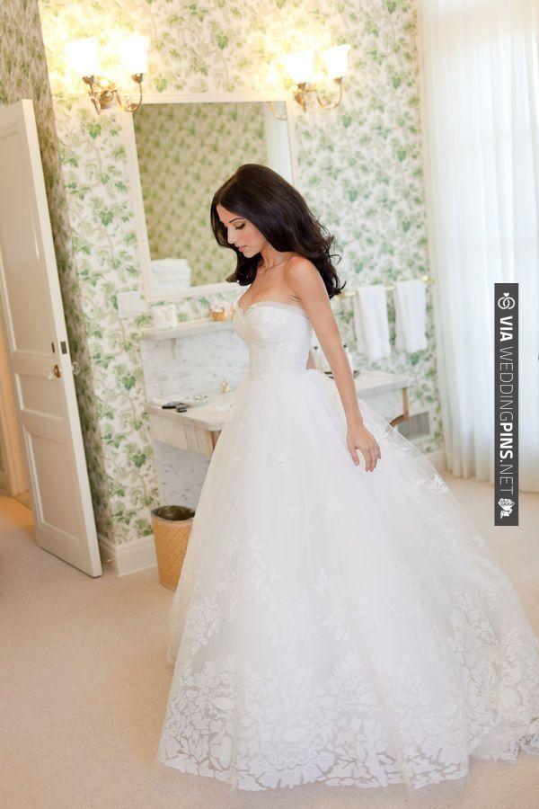 1427 best Wedding Dresses images on Pinterest | Wedding frocks ...