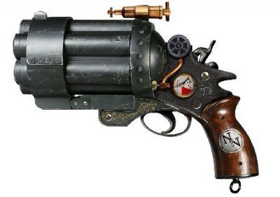 Nemesis Now Col. J Fizziwigs Liberator Steampunk Replica Gun
