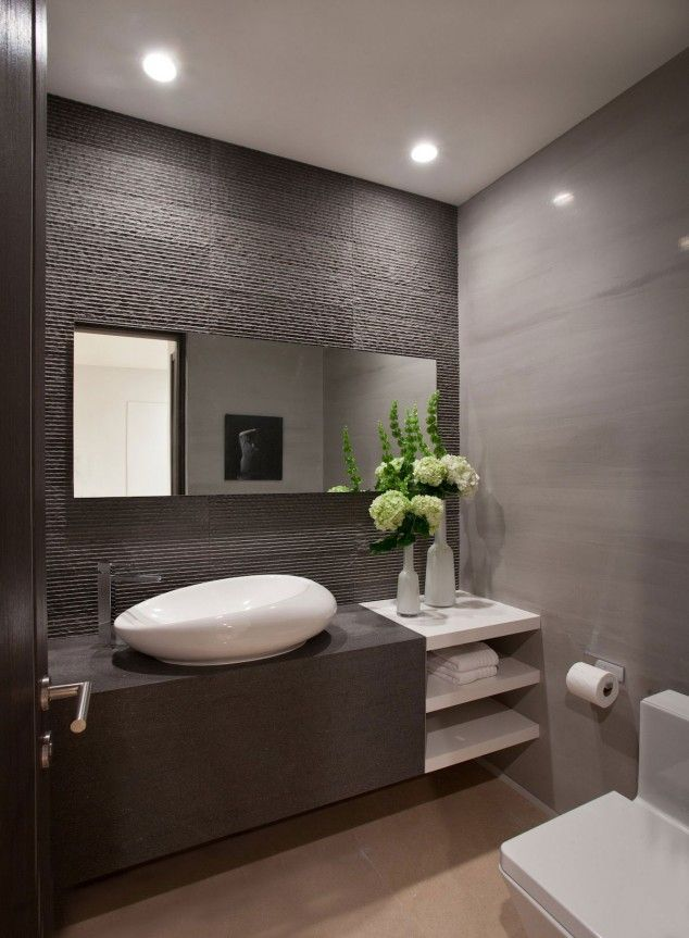 17 Extremely Modern Bathroom Designs That Exude Comfort And Simplicity