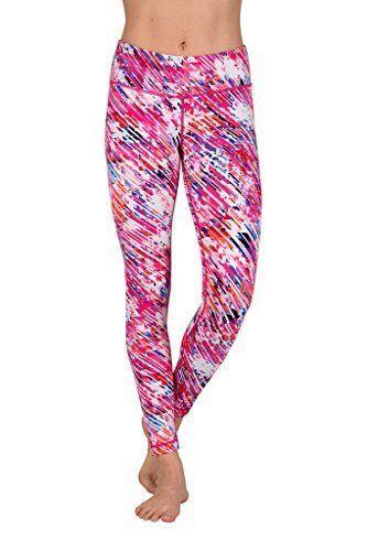 f72b605b51 90 Degree By Reflex Full length Brushed Printed Leggings Yoga Sport Pants