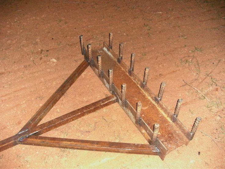 "best $30 I ever spent "" home made tiller/harrow"" - Georgia Outdoor News Forum"
