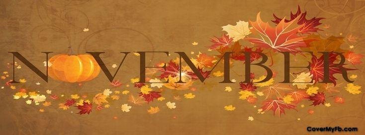 November Facebook Cover