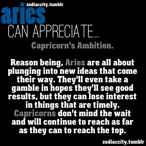 compatibility with capricorn and aries relationship