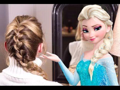 La reine haute coiffure