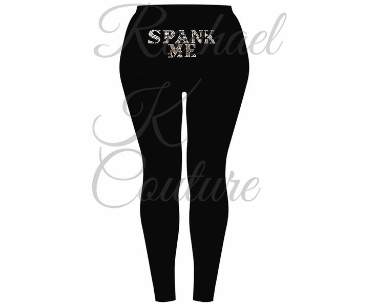 Sexy Women s Plus Size Crystal Slogan Black Kinky Pant Tights Gymwear Lingerie