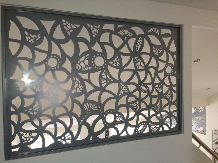Screen Art Privacy Screens - residential, internal stairwell feature. http://www.screenart.net.au