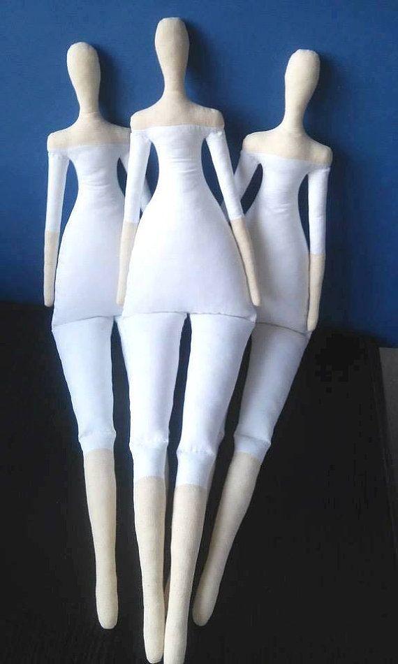 CUERPO de la muñeca tilda y ropa interior  por MadeByMiculinko