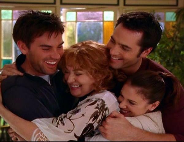 older Chris,Penny,Phoebe, & Coop
