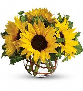 Sunny Sunflowers  Item T152-2A