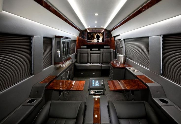 Mercedes benz sprinter executive conversion ride for Mercedes benz luxury vans