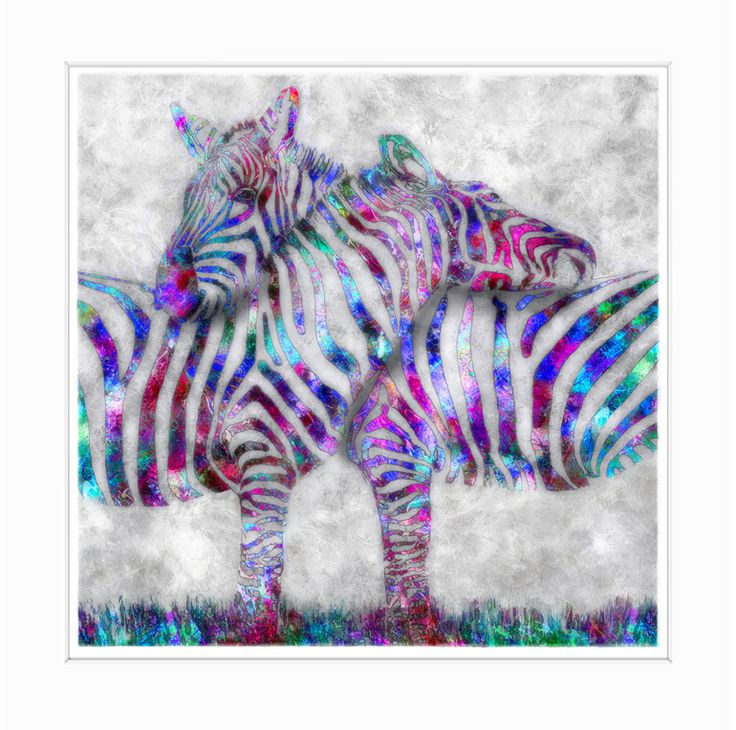 "Saatchi Online Artist: Liz Ravn; Digital 2013 Photography ""Zebra Couple - Limited Edition """