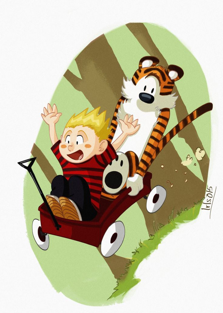 Little fan art Original Characters: Bill Watterson