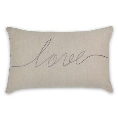 30x50cm Love cushion Wisteria