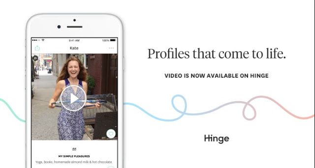 'Hinge' Dating App Wants Show Off The Real You With Video Clips