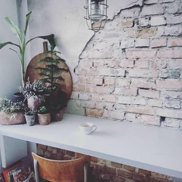Tijd voor koffie! Goeiemorgen lieve mensen! #insanity #workout #bloedzweetentranen #coffeetime #break #keukeninspiratie #kitchen #decoratingideas #plantbased #urbanjungle #industrieelwonen #stylish #stylista #ourhome #inspiration #interiordesign #decorating #decoratingideas #homedecor #homestyle #wooninspiratie #planten #intratuin #bricks #wall #inspiratie #picoftheday