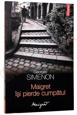 Georges Simenon - Maigret isi pierde cumpatul, din 31 iulie, cu Ziarul de Iasi, la numai 10 lei!