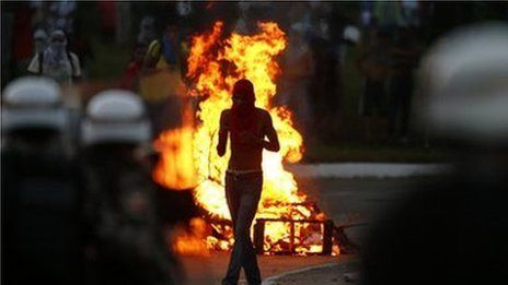 21/06/13 - A million join latest Brazil protests