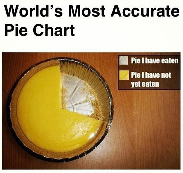 Pie Pie Chart.: Piechart, Giggles, Pies Charts, Funny Stuff, True, Smile, Accur Feet, Funnystuff, Pie Charts