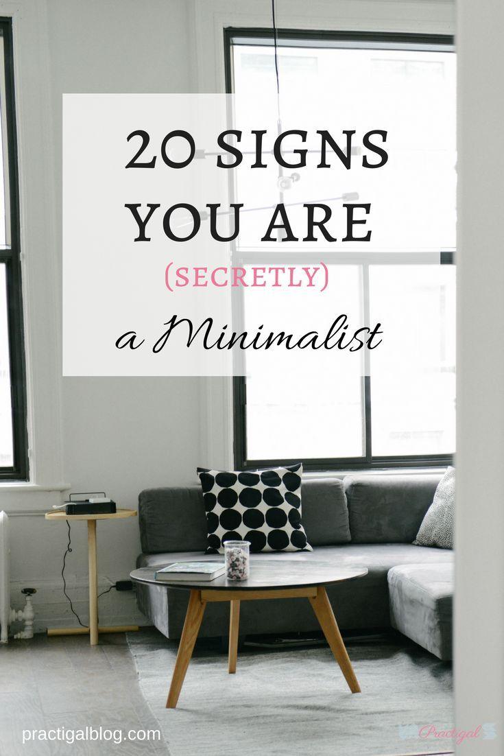 20 Signs You Are Secretly A Minimalist Home Decor Minimalist