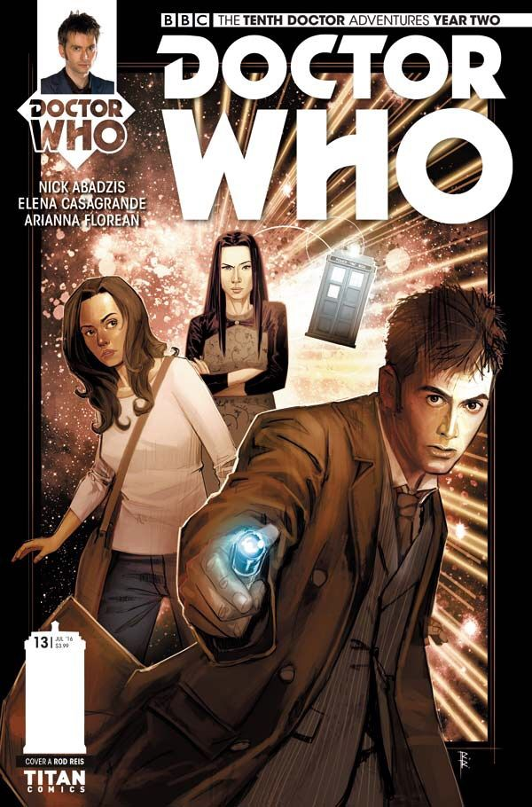 Today Sees The Release Of Latest Issue In Ongoing Comic Book Adventures Tenth Doctor Officially Licenced Series N