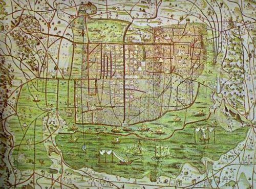 Mexico City 1550
