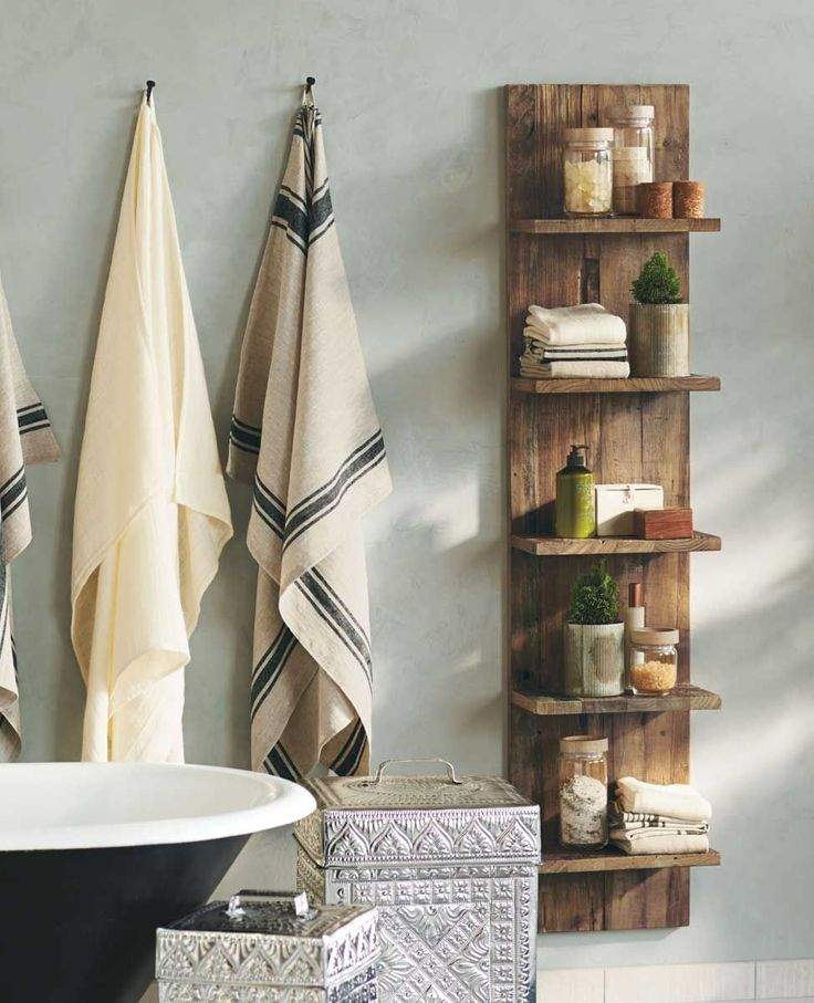 Pacific Bungalow Wooden Slab Shelves