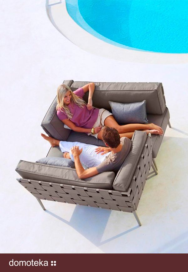 CONIC Cane-line nowoczesne meble ogrodowe to propozycja od Willow House.