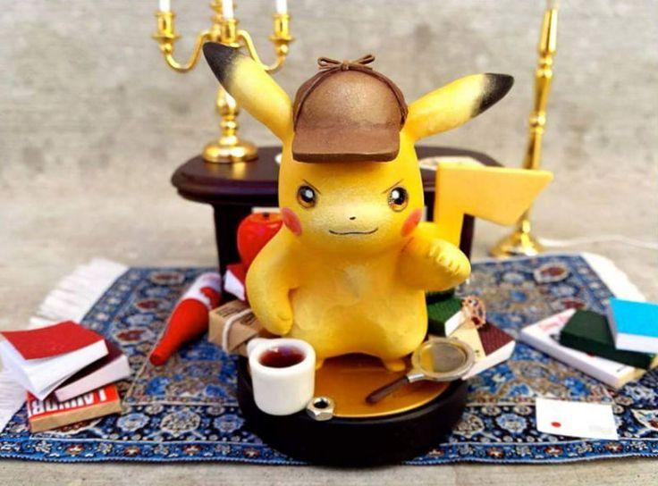 Look At This Custom Detective Pikachu Amiibo