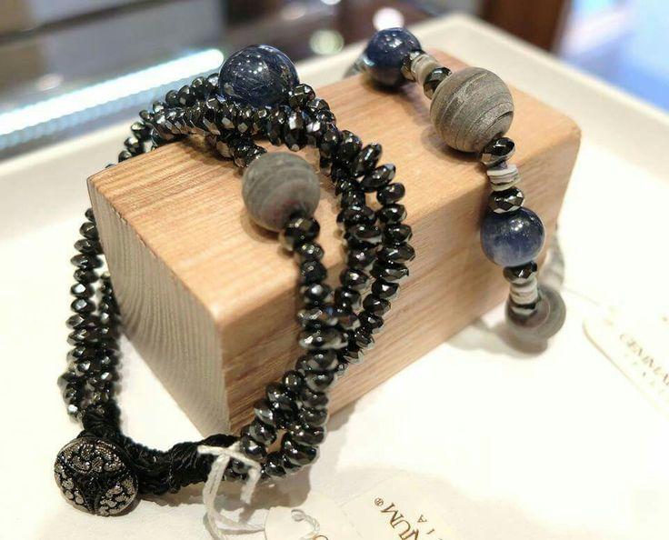 Bracciali Gemmarium in pietre naturali,  Facebook: gioielleria il diamante