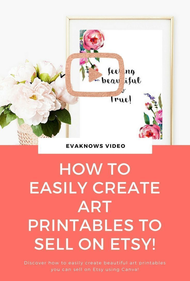 How to Easily Create Art Printables To Sell Online – #Art #Create #Easily #Onlin… – Kathleen