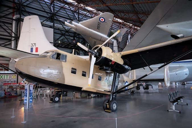 RAF Cosford Twin Pioneer