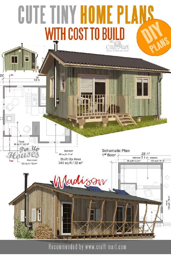 Unique Small House Plans Tiny Homes Cabins Sheds Craft Mart Unique Small House Plans Tiny House Plans Small House Plans