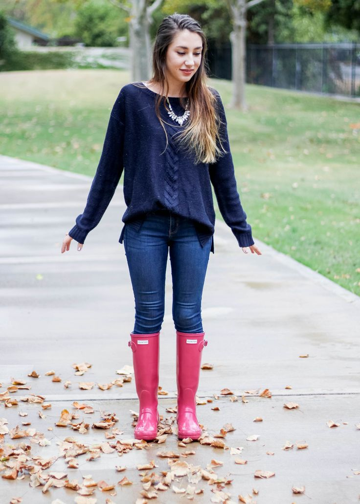 Best 25 Hunter Boots Outfit Ideas On Pinterest Rain