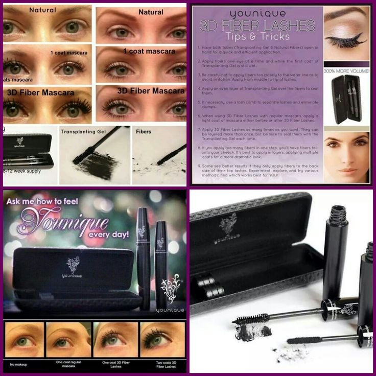 Want Big Bold Lashes? Try these 3D fiber lash made from natural GREEN TEA Extract....