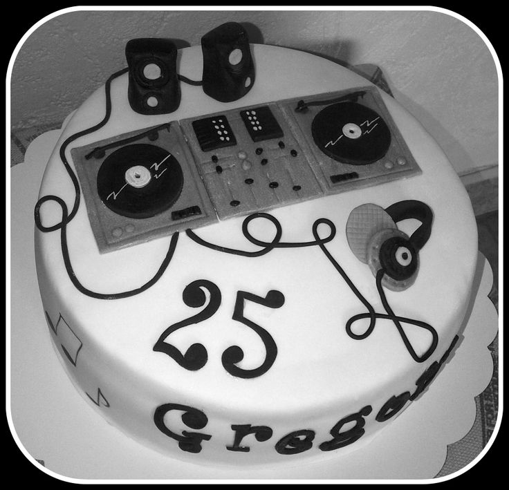 7 best dj cake images on Pinterest Dj cake Music cakes and
