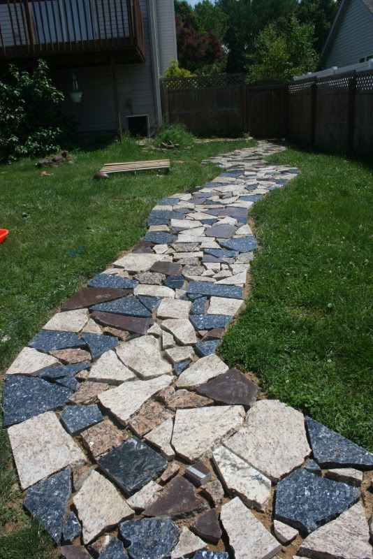 The next big project on the house. Best joint fill in granite scrap joints? - Ground Trades Xchange - a landscaping forum