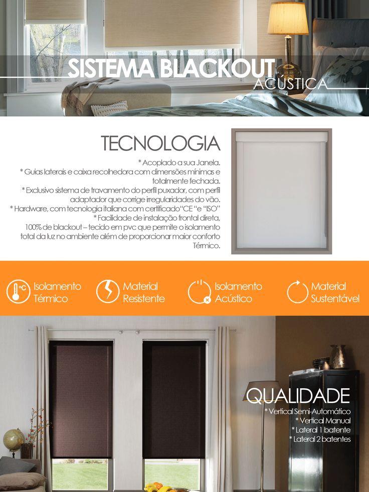 Cortinas Blecaute Blackout total