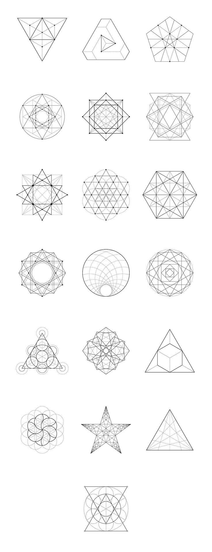 Sacred Geometry BUNDLE: 60 Items by kloroform on @creativemarket