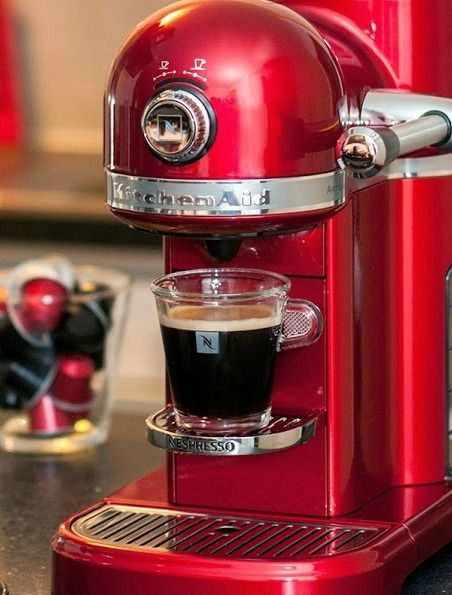 Nespresso by KitchenAid | Treat your kitchen counter to something nice this year with our powerful and enchanting coffee machine. It's built with the highest-quality materials to make you the perfect cup of coffee right in your own home.