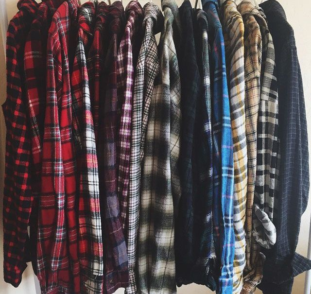 "monon0ke: "" NEW LIFE GOAL IS TO OWN THIS MANY FLANNELS """