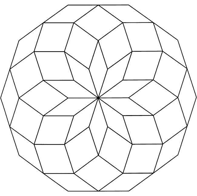 flower mandala printable coloring page abstract art coloring pattern google search - Mandalas Coloring Pages Printable