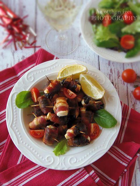 Az otthon ízei: Baconba tekert aszalt szilva fetával