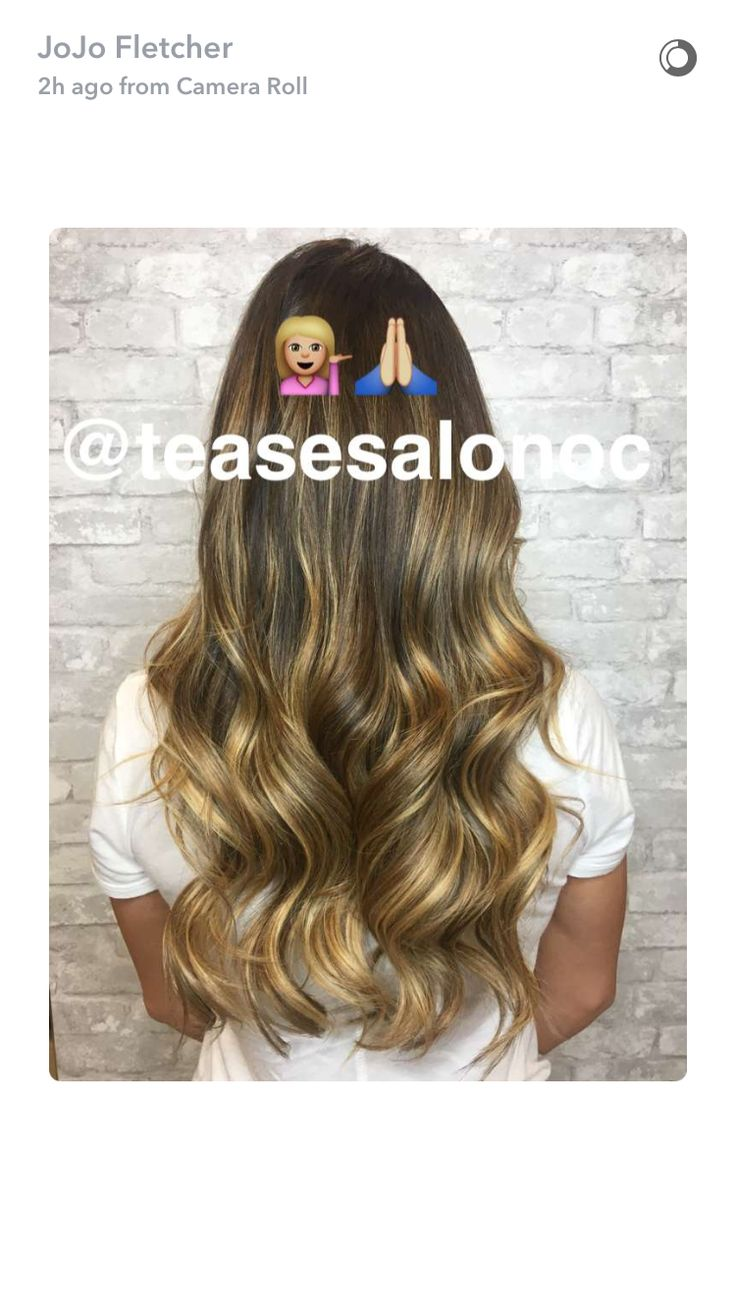 Joelle fletcher #hairgoals #balayage