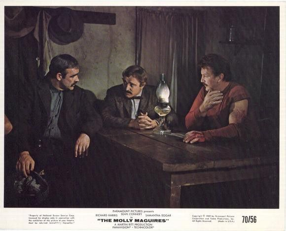 The Molly Maguires 11x14 Movie Poster (1970)